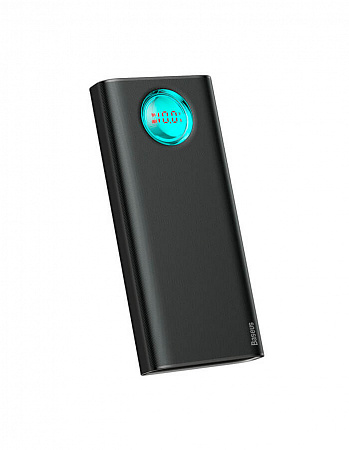 Внешний аккумулятор Baseus Amblight  Digital Display Quick charge PD3.0+QC3.0 Power Bank 18W 20000mAh Black