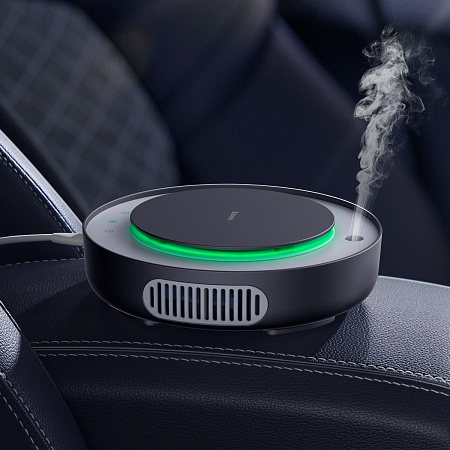 Очиститель воздуха Baseus Freshing Breath Car Air Purifier Black